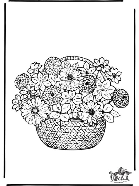 coloring pages flowers flowers
