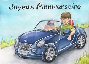 Cote Voiture Gratuite Avec Kilometrage : carte anniversaire voiture pour les 25 ans de william ~ Gottalentnigeria.com Avis de Voitures
