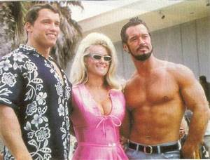 Young Arnold Schwarzenegger