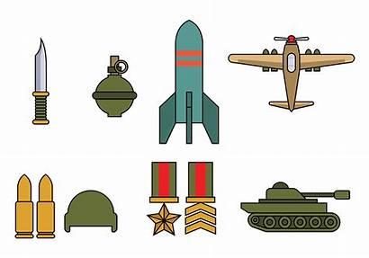 War Icon Clipart Guerra Weltkrieg Vetor Weapons