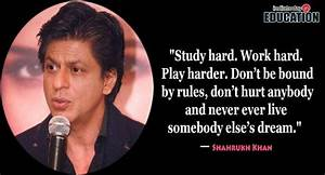 10 inspirational quotes by Shah Rukh Khan for students ...