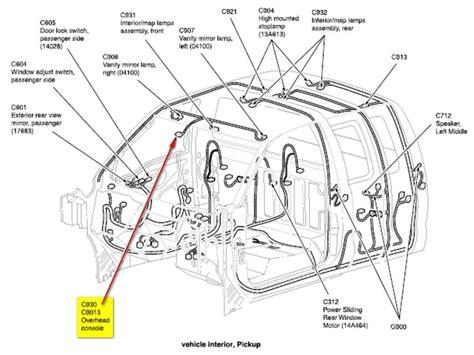 Ford Rear View Mirror Wiring Diagram