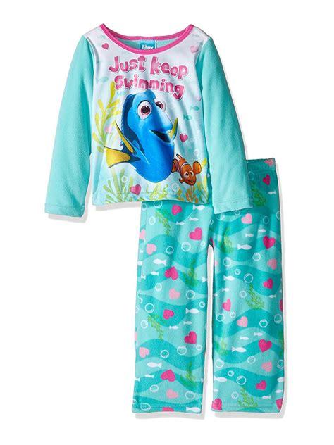 Disney - Finding Dory Nemo Girls Fleece Pajamas Set ...