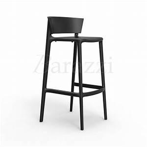 Tabouret De Bar Empilable : chaise de bar empilable avec assise haute africa 95 par vondom ~ Teatrodelosmanantiales.com Idées de Décoration