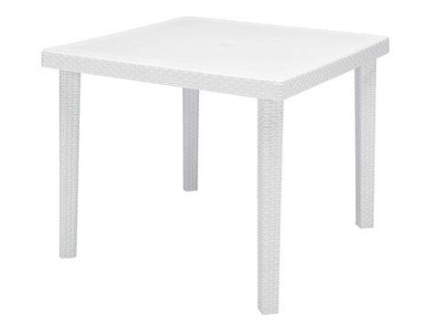 table cuisine conforama blanc table de jardin 90x90 cm boheme coloris blanc vente de