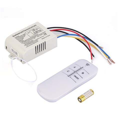 a 3 way switch controls 220v 3 way on off digital rf remote control switch wireless for light l high quality hot sale