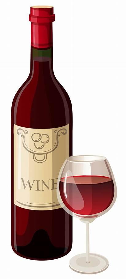 Clipart Wine Bottle Glass Vector Cartoon Clipartix