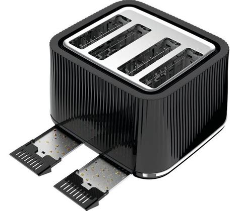 tefal toasters uk buy tefal loft tt60840 4 slice toaster piano black