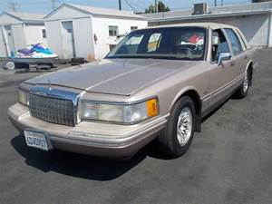 Find Used 1993 Lincoln Town Car No Reserve In Anaheim