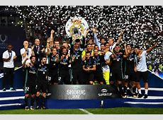 Real Madrid win Super Cup after outclassing Manchester