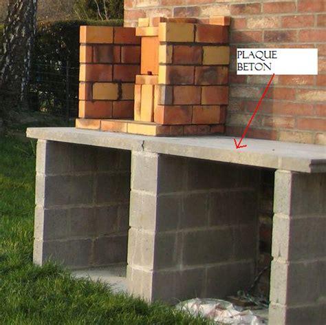 construire un barbecue exterieur fabriquer barbecue en dur