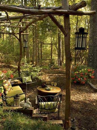 Over Cool Ideas For Rustic Outdoor Decor