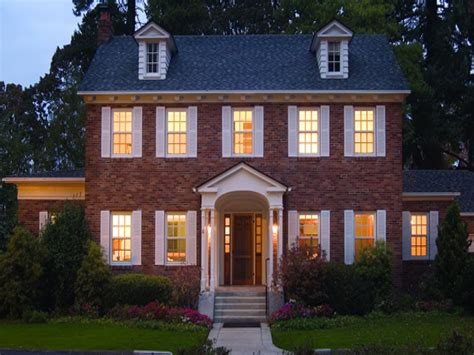 french colonial style  england colonial style home  colonial homes treesranchcom
