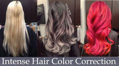 hair color correction hair color correction