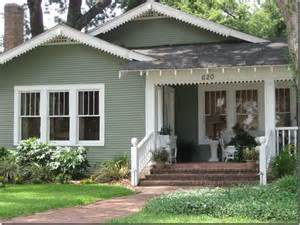 Cottage Green Exterior House Colors