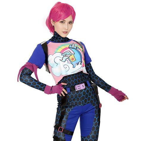 brite bomber rainbow horse zentai cosplay halloween