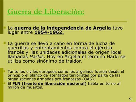 la descolonizaci 211 n de argelia