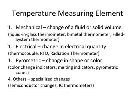 Industrial Temperature Measurement