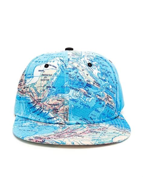 Map Printed Baseball Cap by Filles à Papa £55 from Browns ...