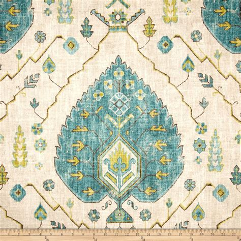 Aubusson Upholstery Fabric by Richloom Aubusson Aegean Discount Designer Fabric