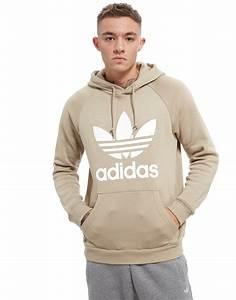 Adidas hoodie herr beige