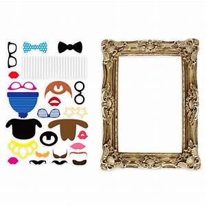 Photo Avec Cadre : coffret d 39 accessoires pour photo avec cadre cadeau insolite mariage sur ~ Teatrodelosmanantiales.com Idées de Décoration