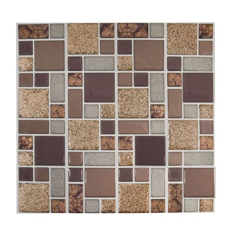 mosaique autocollante cuisine self adhesive mosaic tile stickers bathroom kitchen