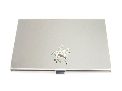 Horse Polo Business Card Holder