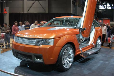 land rover range stormer concept image photo