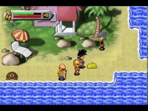 dragon ball   legacy  goku   gba youtube