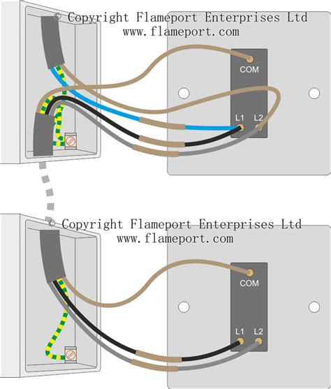 Two Way Switched Lighting Circuits