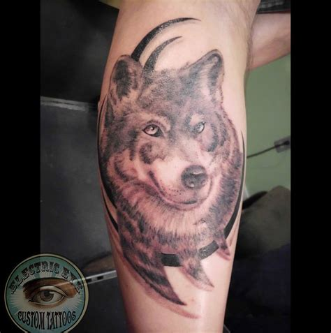 monicamosesrealistic wolf worked  tribal realistic