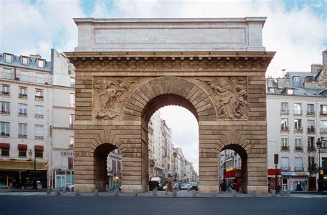 porte st martin triumphal arches martin o malley and