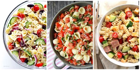 easy pasta salad ideas 30 easy pasta salad recipes best cold pasta dishes