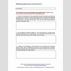 15 Best Images Of Stress Free Worksheets  Printable Stress Worksheets For Adults, Ptsd 12