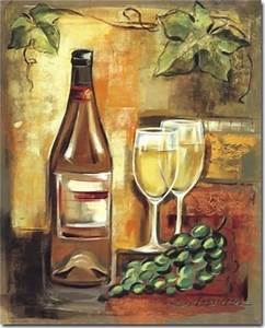 White Wine - Original Artwork | 50% Off @ Canvas Paintings