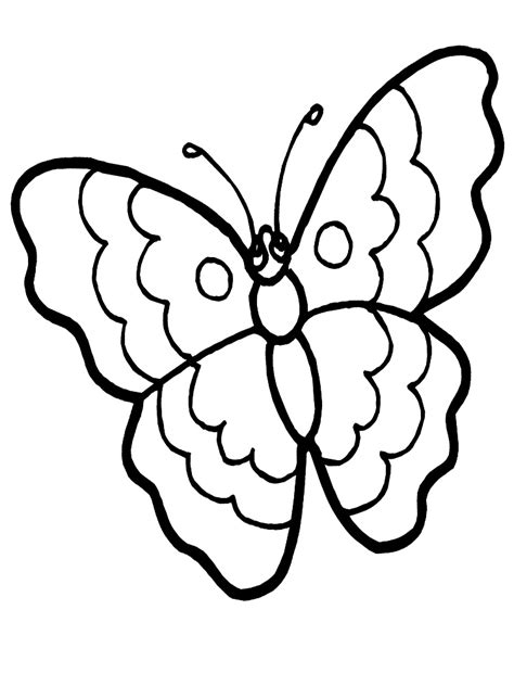 Kleurplaat Mariposa by Butterfly Coloring Pages For