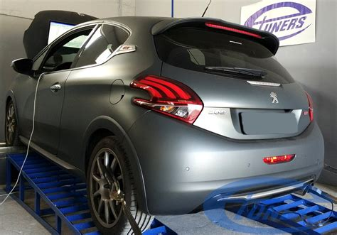 peugeot 208 gti tuning peugeot 208 gti 1 6 thp208 my2017 stage2 95ron etuners