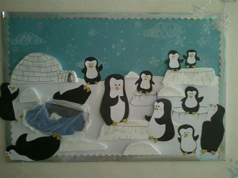 penguins bulletin boards classroom doors winter