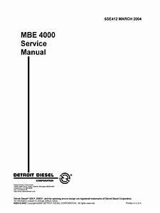 Manual De Reparacion Motor Mercedes Benz Om460