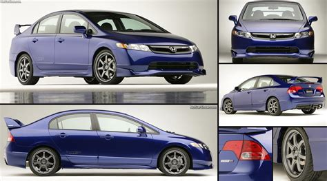 honda civic mugen  sedan prototype  pictures