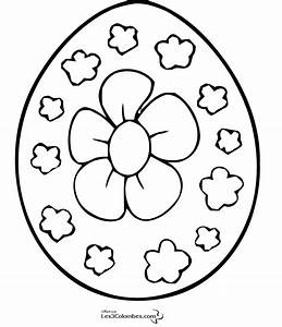 Oeuf De Paque : coloriage oeuf de paques fleur 5 coloriage en ligne ~ Melissatoandfro.com Idées de Décoration