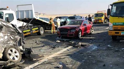 Major Multi-car Accidents Reported In Abu Dhabi