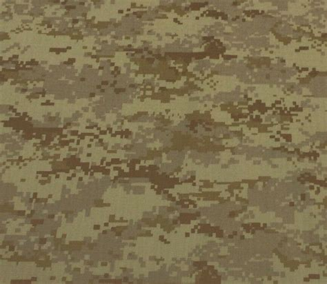 Camouflage Upholstery Fabric by Digital Camouflage Camo Brown Polyester Woven Ripstop