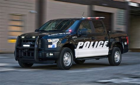 2016 F-150 Special Service Vehicle Police Pickupby