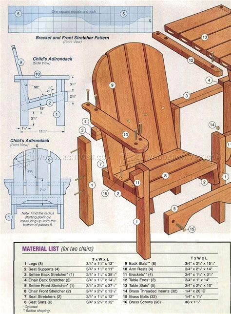 childrens adirondack chair plans adirondackchairshqcom