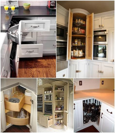 kitchen corner storage ideas clever corner kitchen storage ideas 6622