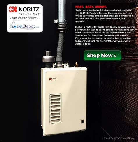 The Noritz EZTR40 Tankless Water Heater   A Revolutionary