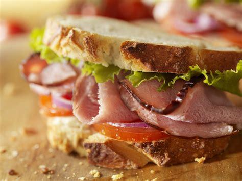 ham sandwich rustic ham sandwich recipe for picnics green blog