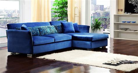 canape cuir bleu canape d 39 angle bleu